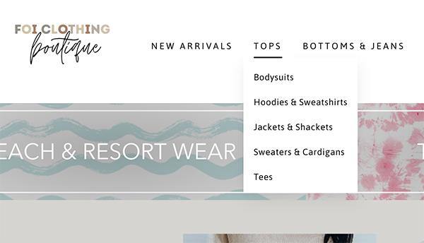 FOI Clothing categorization