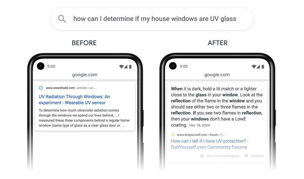 Screenshot of What Google Passages Look Like via Google